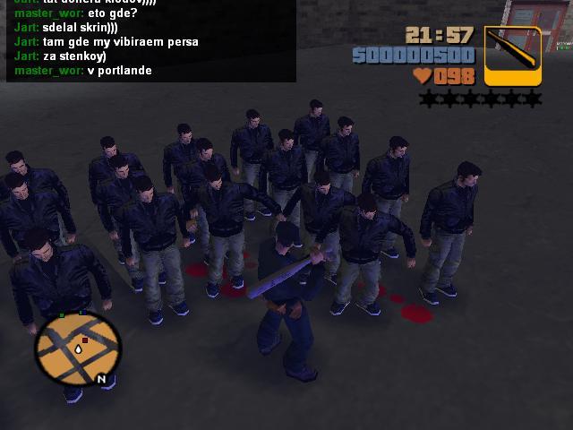 Армия Клодов Шорсайд Вэйл 3 - Grand Theft Auto 3