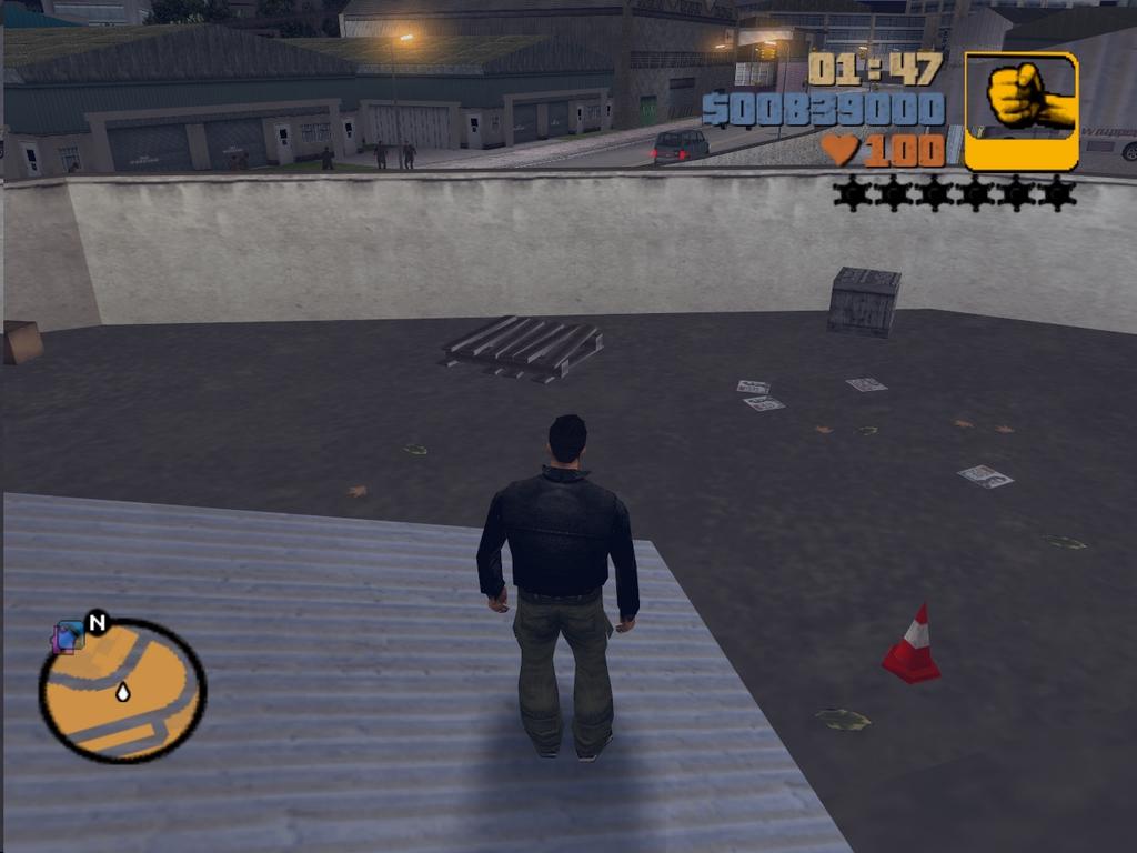 Плот - Grand Theft Auto 3
