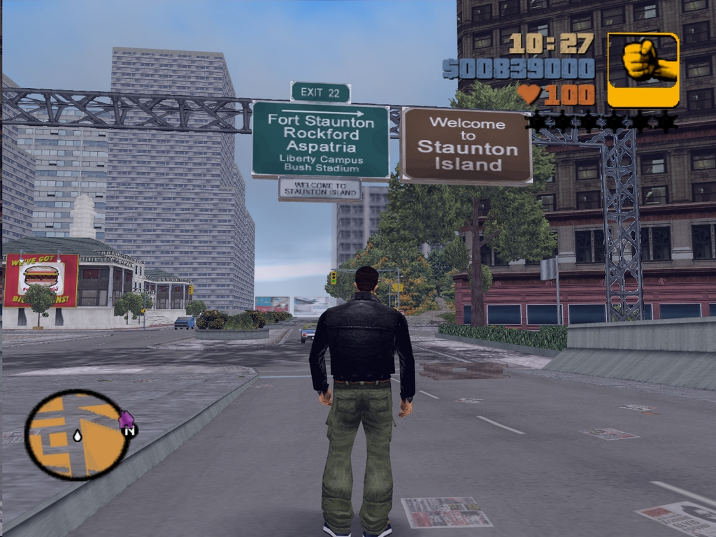 Дотолкал до Стаунтона - Grand Theft Auto 3