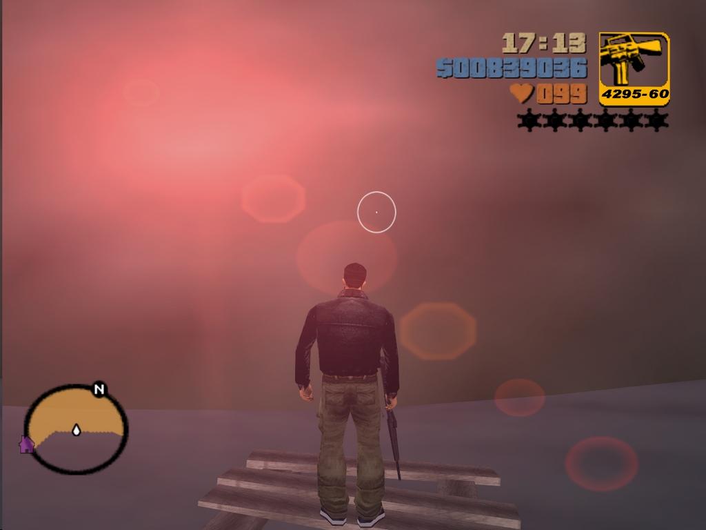 Доплыл до горы - Grand Theft Auto 3