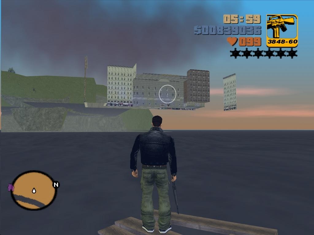 Первое полное появление ГП - Grand Theft Auto 3