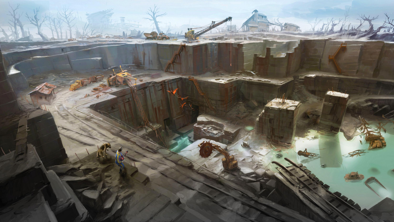 Concept Art Games - Fallout 4 Concept Art Games