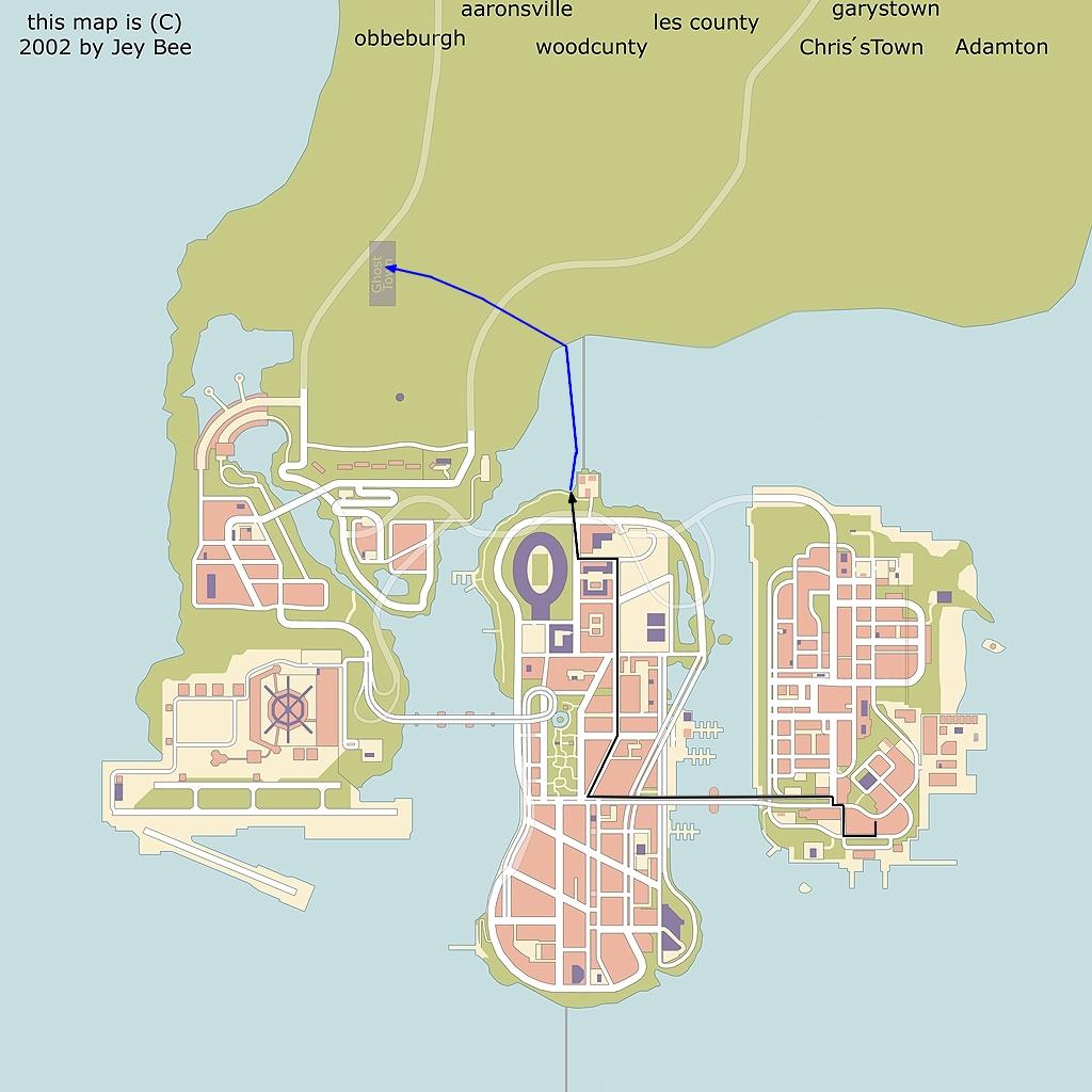 Путь - Grand Theft Auto 3