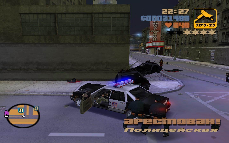 4звезды - Grand Theft Auto 3