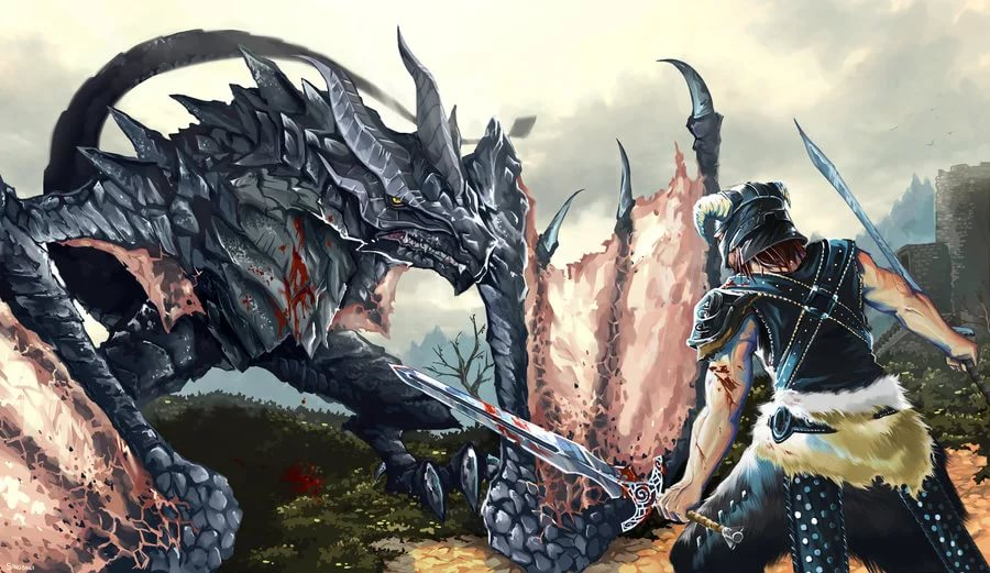 IMG_5395.JPG - Elder Scrolls 5: Skyrim, the Арт