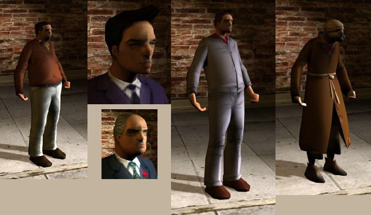 Персонажи - Grand Theft Auto 3