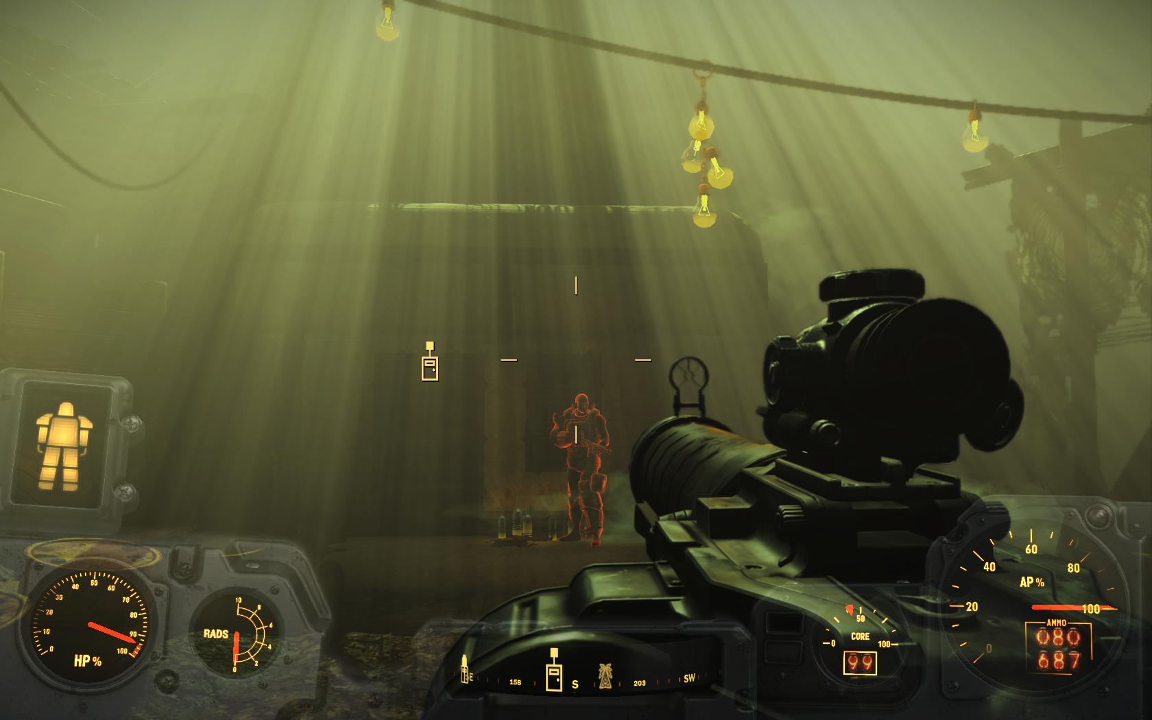 Унылый полдень (Фар-Харбор, у входа в Ядро) - Fallout 4 Ядро