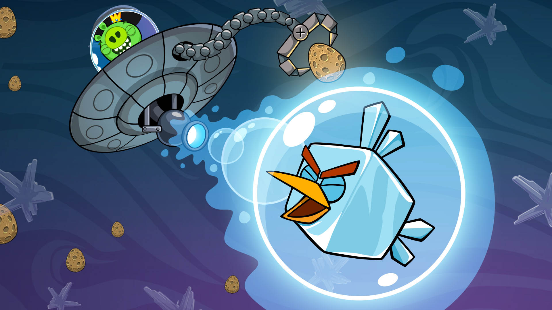 TRADING CARDS - Angry Birds Space