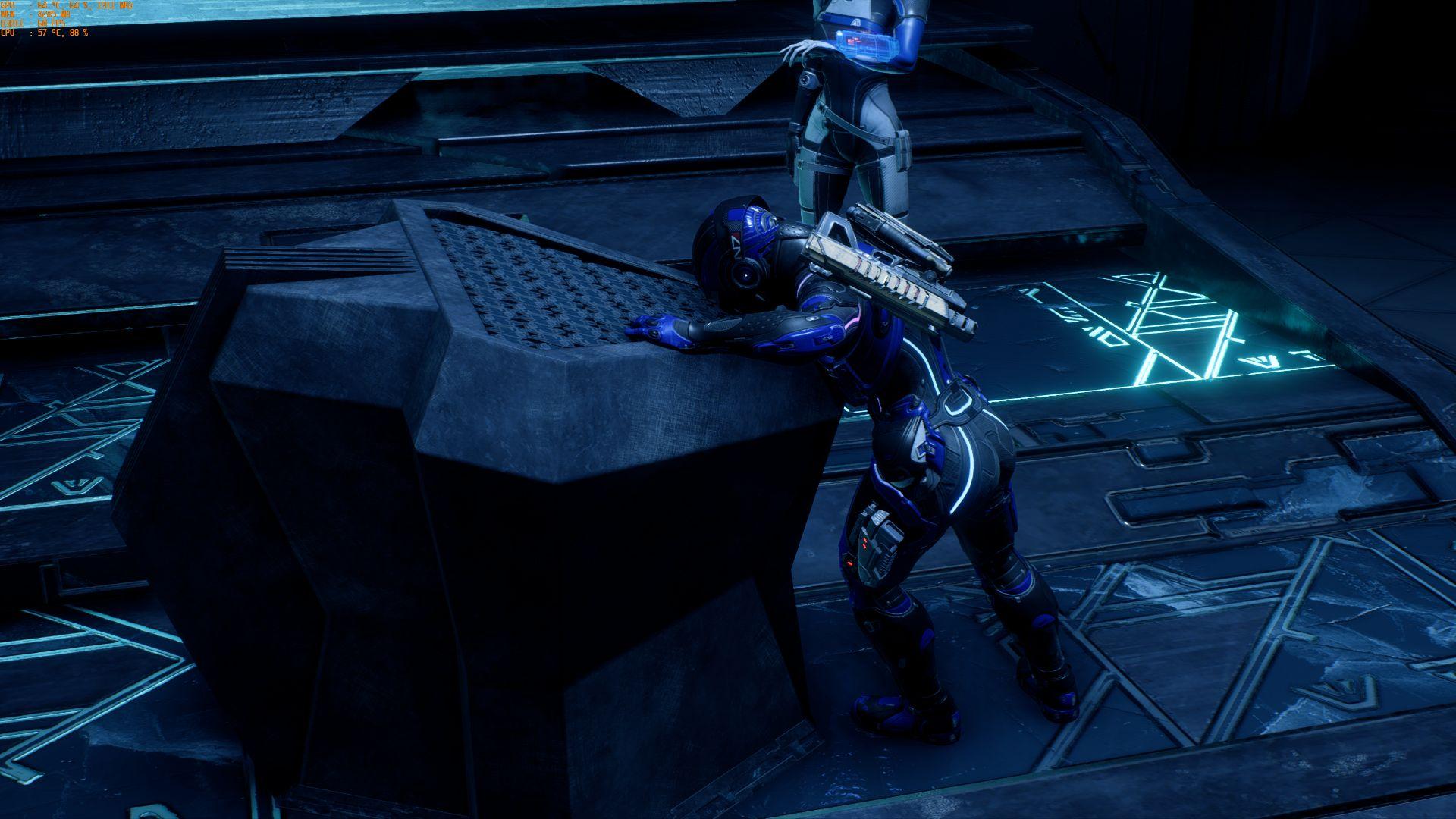 тяжелая, зараза. - Mass Effect: Andromeda