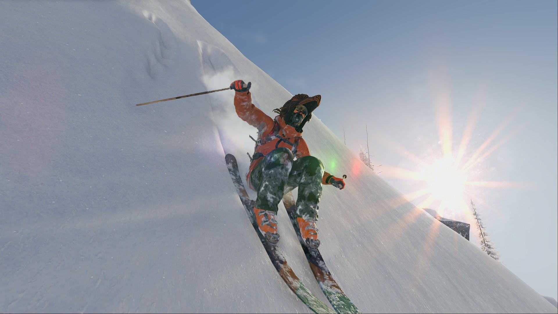 Небо - STEEP Basejumping, Snowboard