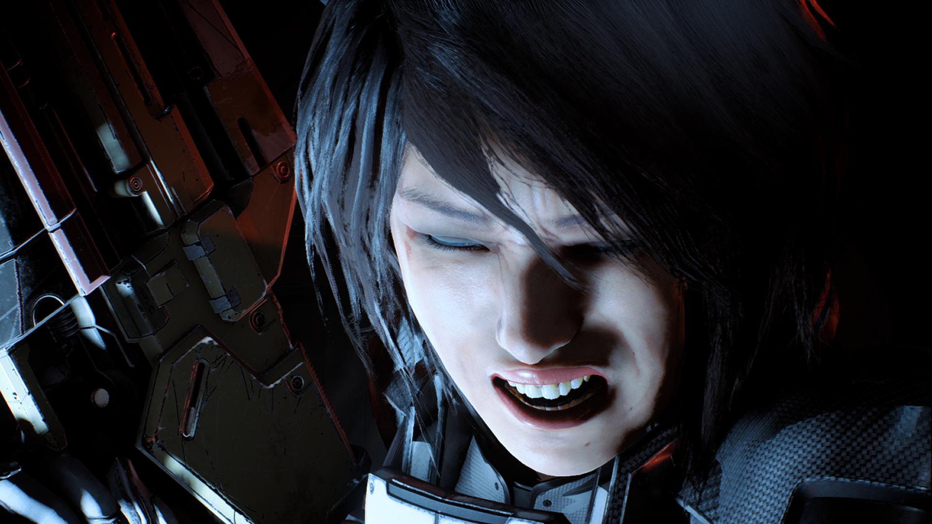 Сара Райдер - Mass Effect: Andromeda боль, крик, меридиан, Персонаж