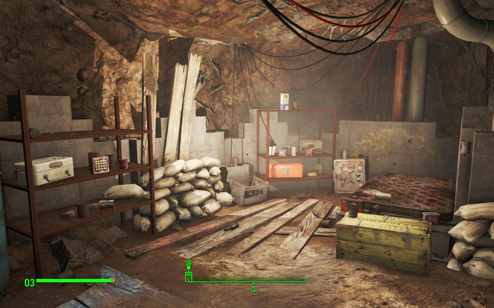 Подвал (Сэнкчуари) - Fallout 4 Подвал