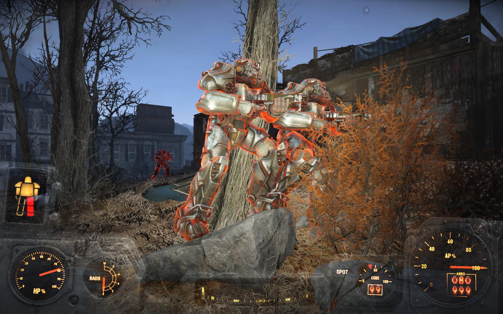 Близнецы из Братства Стали - делали всё синхронно (Битва за Банкер-Хилл) - Fallout 4 Братство, Стали