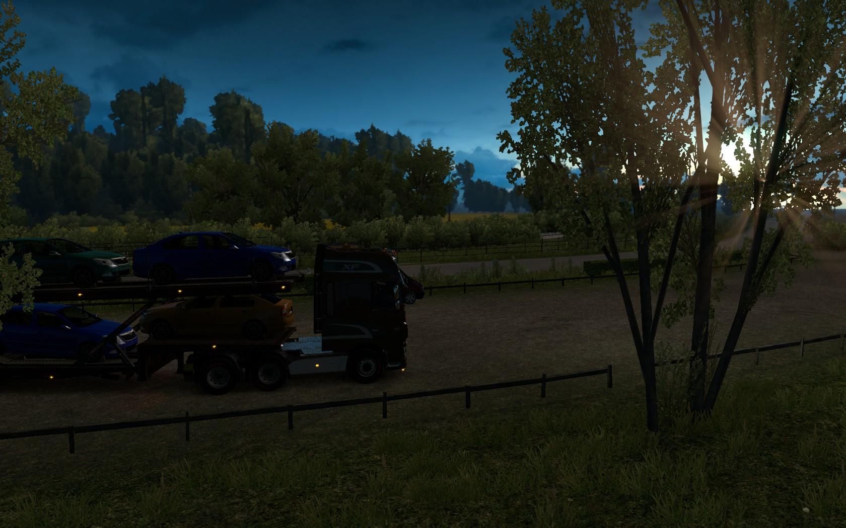 Дорогами Франции - Euro Truck Simulator 2 траксимуляторы, Транспорт