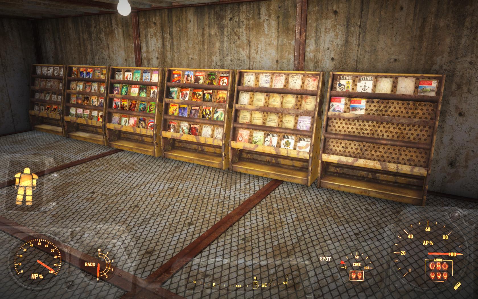 Мои журналы - 107 шт - Fallout 4