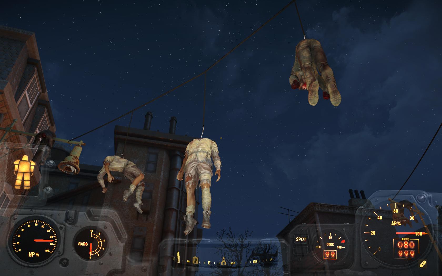 Похоже на рыбалку (южнее Станции Эндрю) - Fallout 4 Варвары, Эндрю