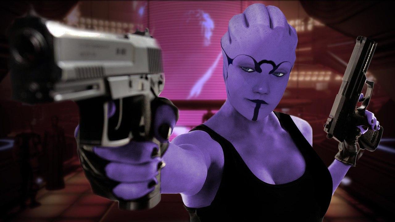 cLIgUzRm4qE.jpg - Mass Effect 3 Aria T'Loak, Арт
