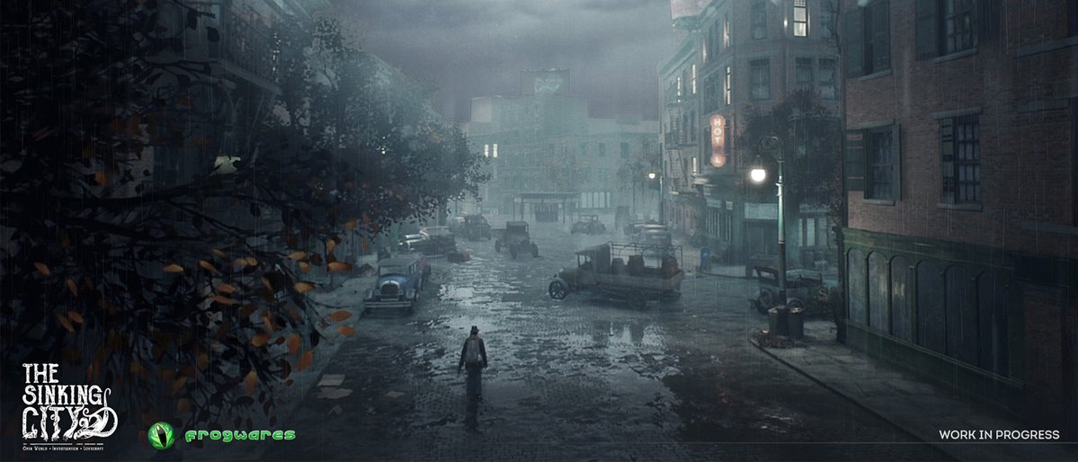 art - Sinking City, the