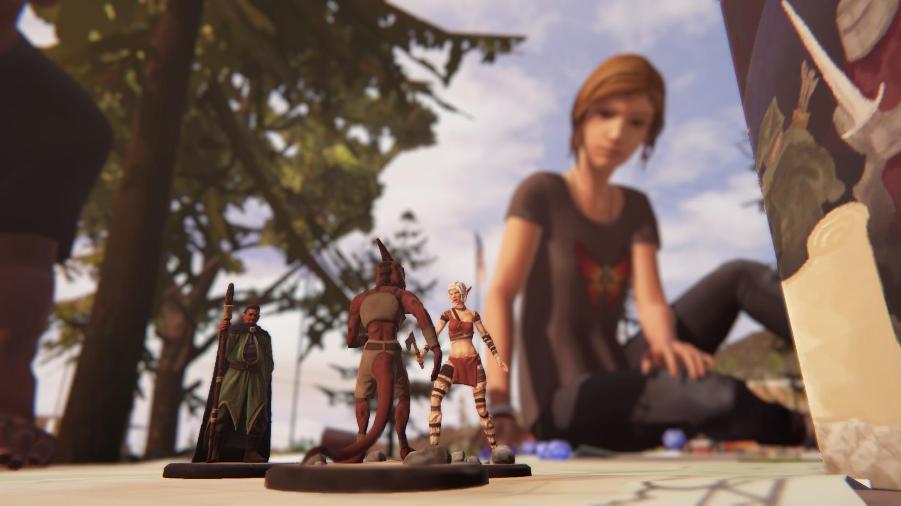D&D LiS - Life is Strange: Before the Storm Chloe, D&D