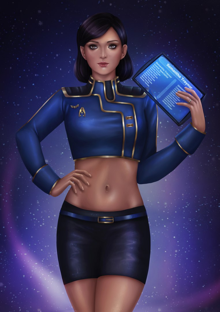 vlMIGxmCSNA.jpg - Mass Effect 3 Samanta, Арт