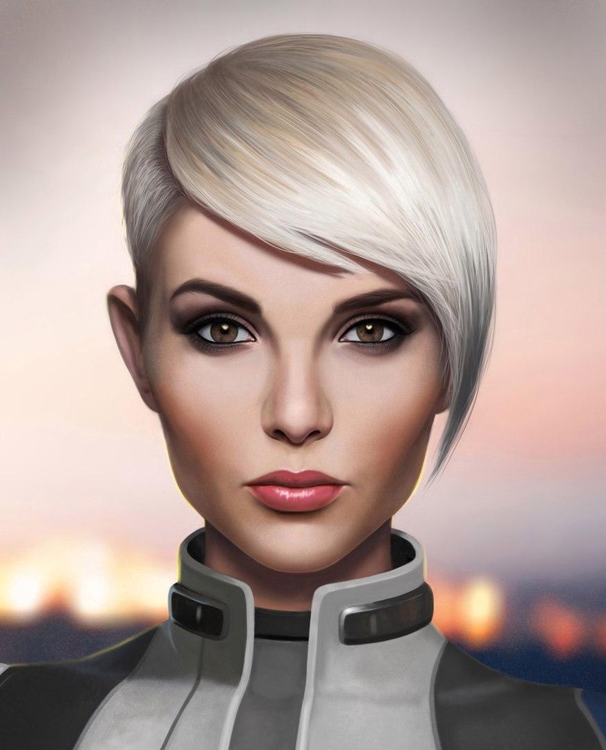 YdNgKXtCQcM.jpg - Mass Effect: Andromeda Арт, Корра