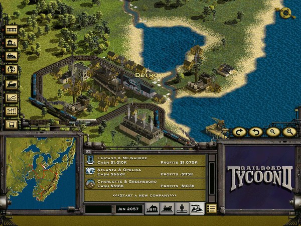 Железные дороги - Railroad Tycoon 2