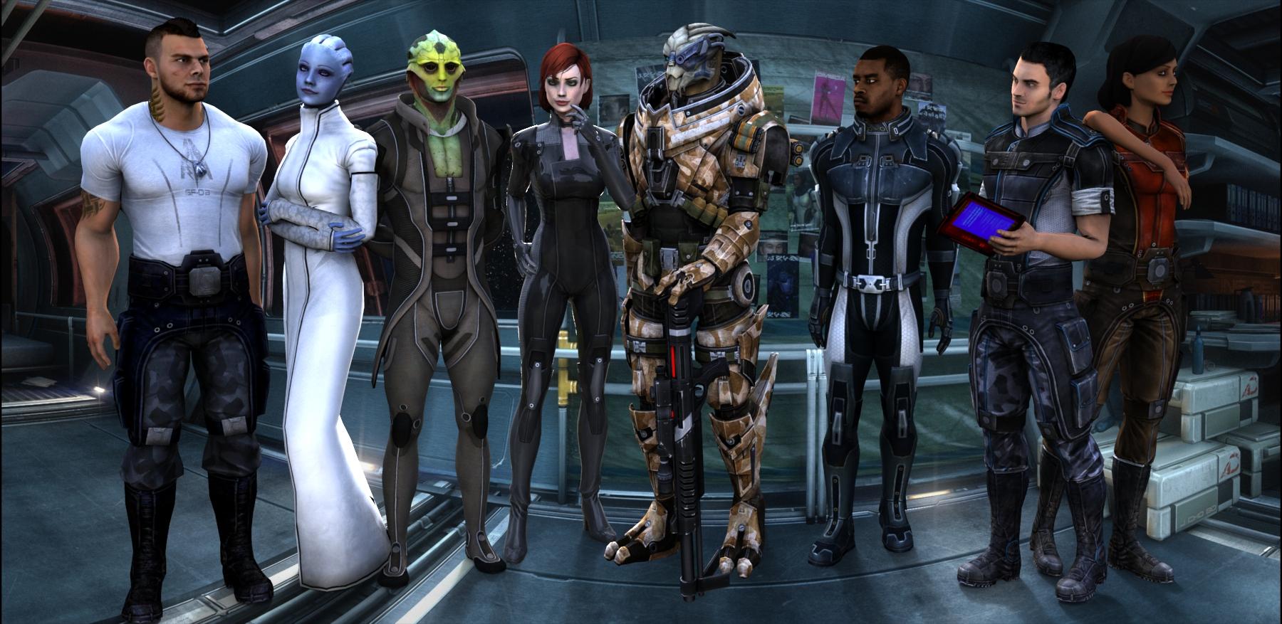 Романсабельные компаньоны для женщины Шепард - Mass Effect 3 mass effect 3 компаньоны