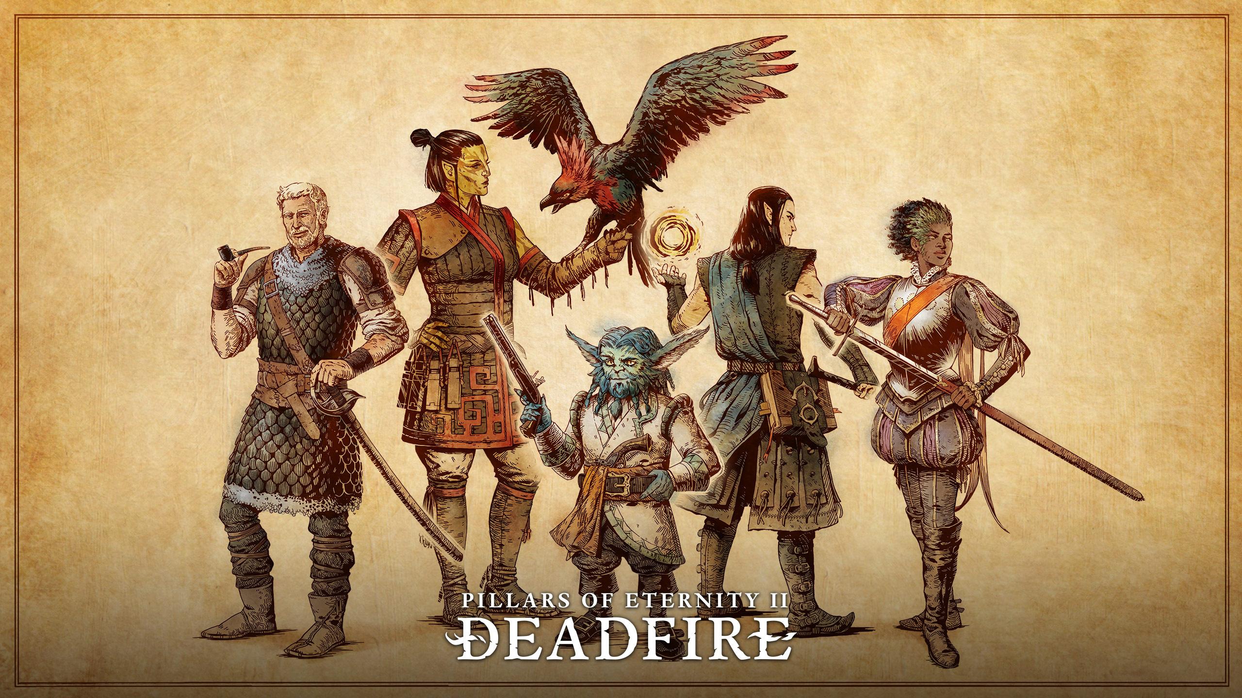 Сопартийцы - Pillars of Eternity 2: Deadfire арт, Расы, спутники