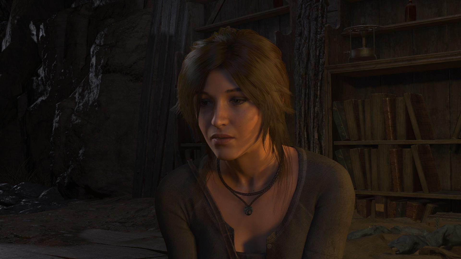 Лара Крофт - Rise of the Tomb Raider Ларка, Лицо