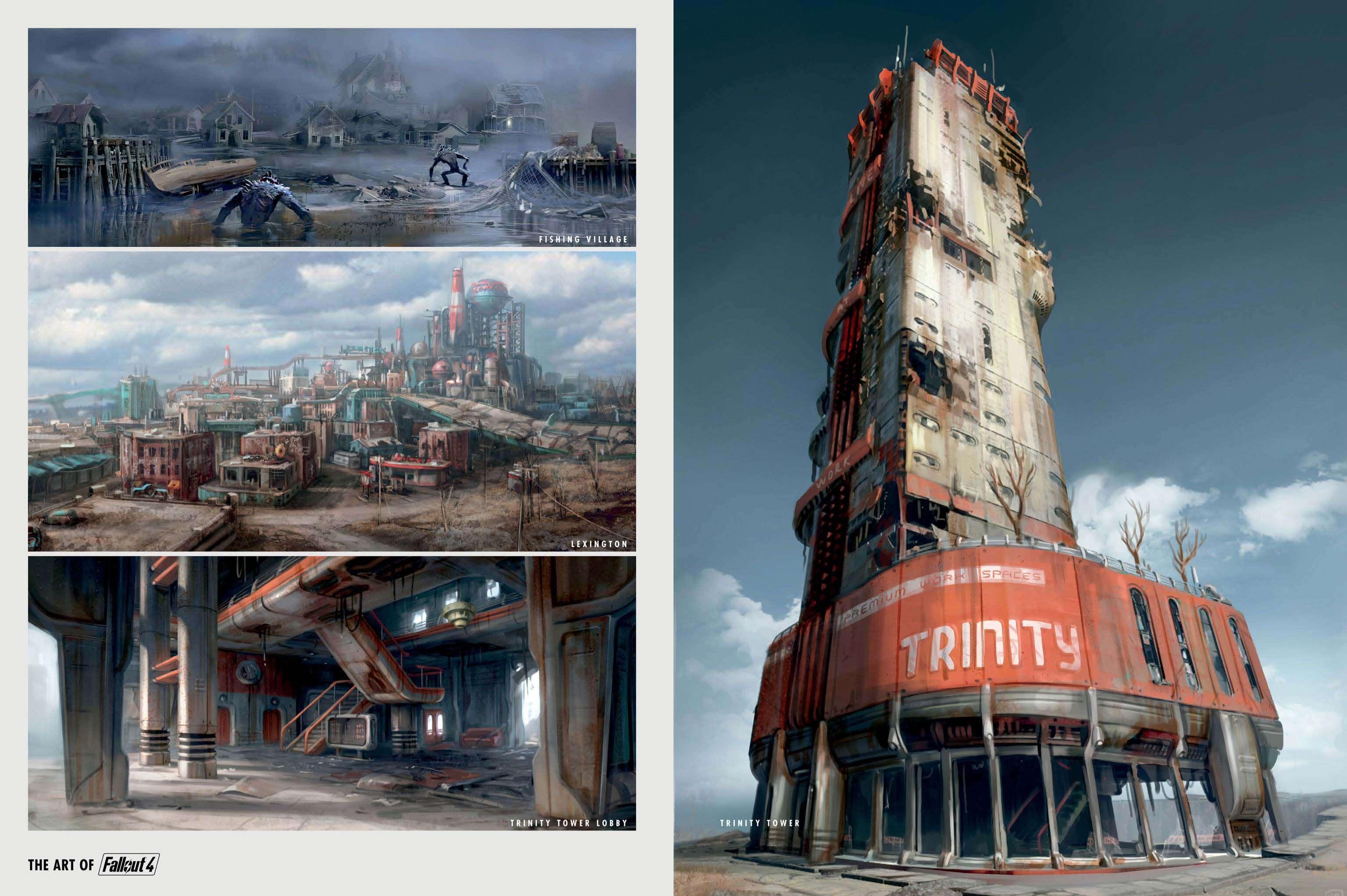 The Art of Fallout 4 - # 038 - Fallout 4 Артбук