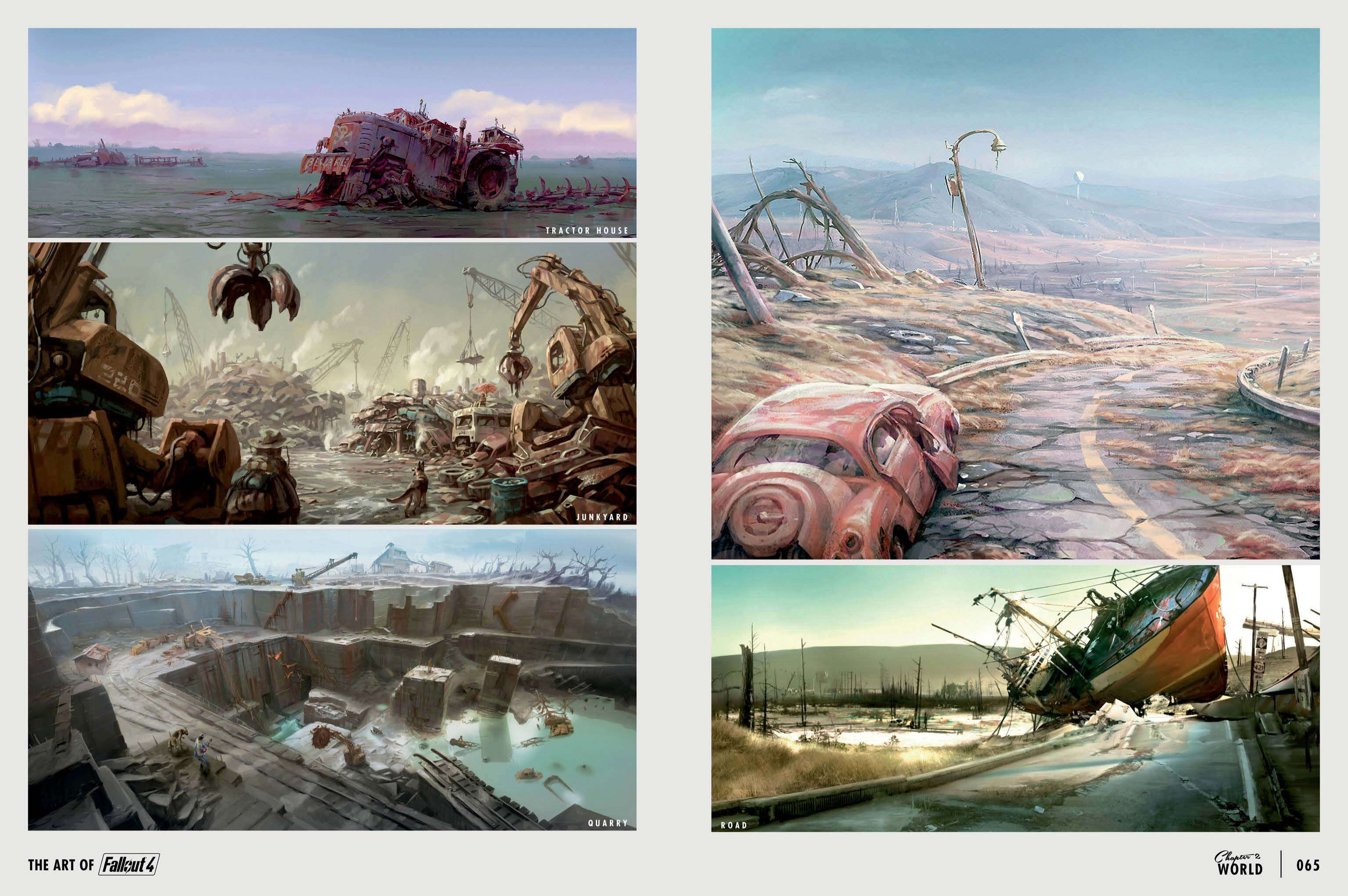 The Art of Fallout 4 - # 033 - Fallout 4 Артбук