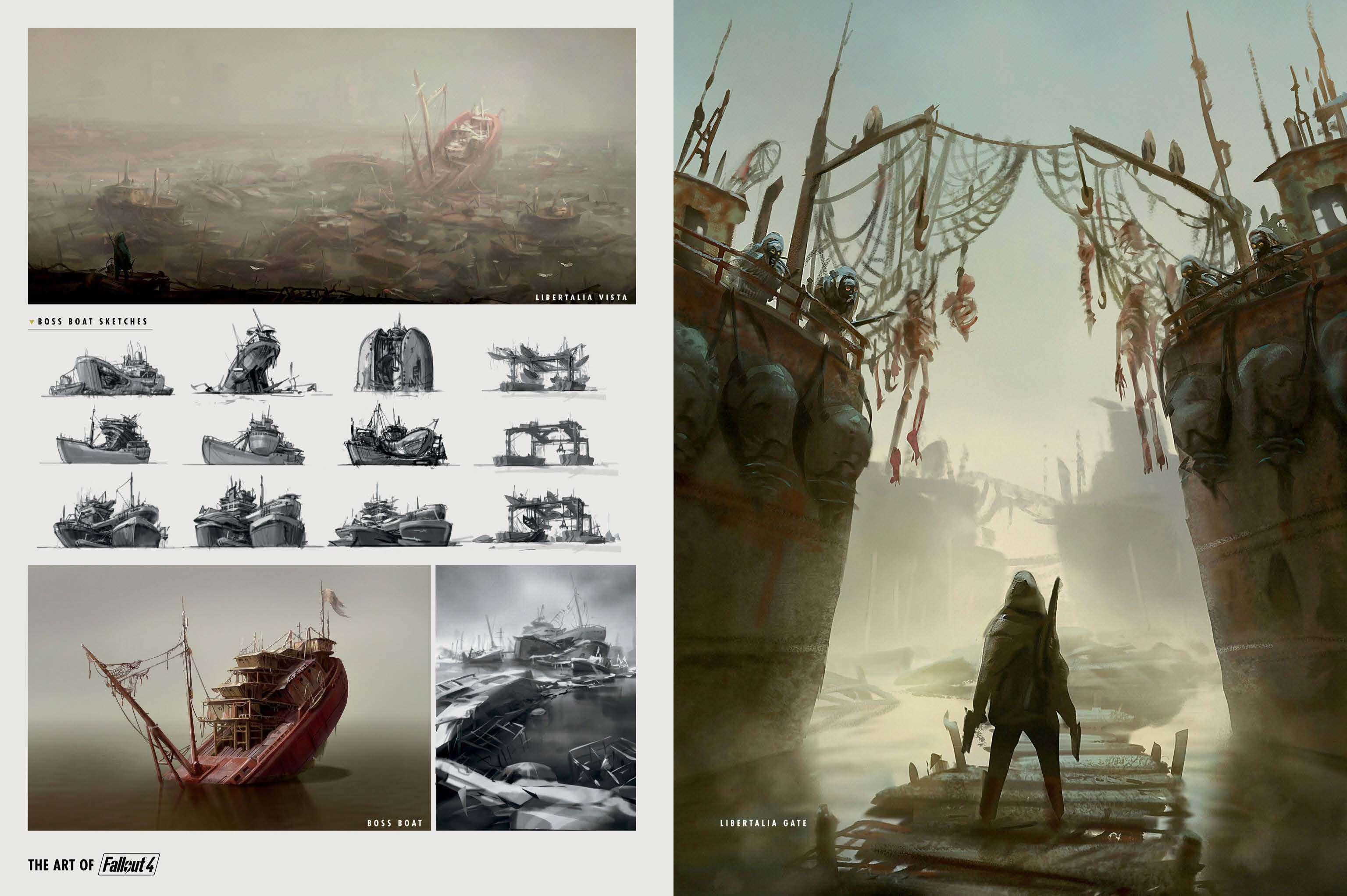The Art of Fallout 4 - # 029 - Fallout 4 Артбук