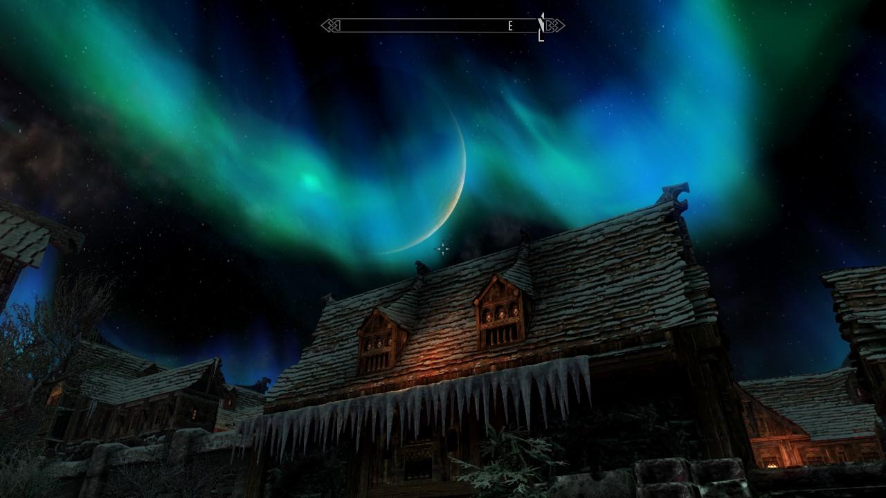 Night Windhelm - Elder Scrolls 5: Skyrim, the Скриншот