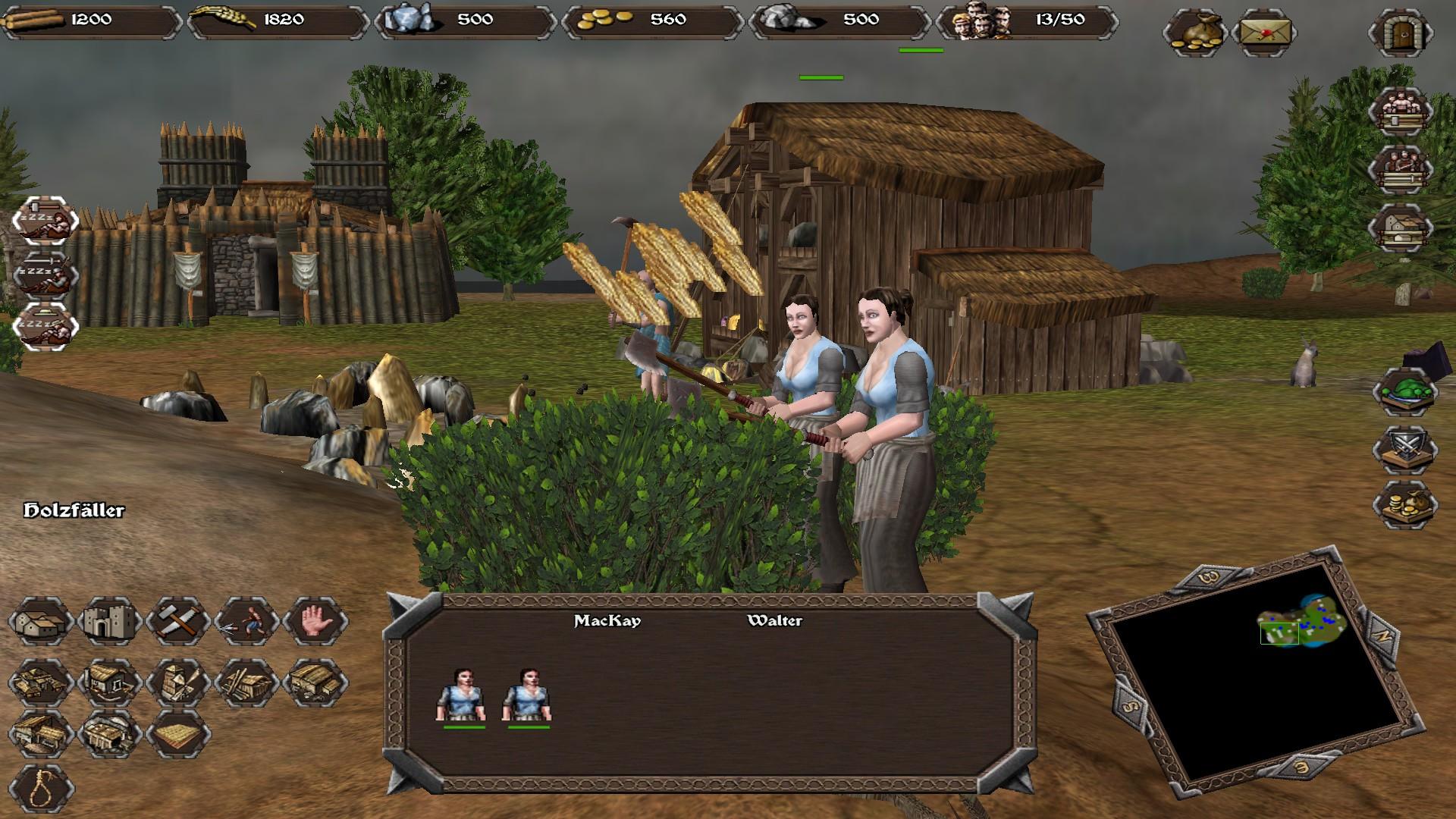 - - Highland Warriors Скриншот