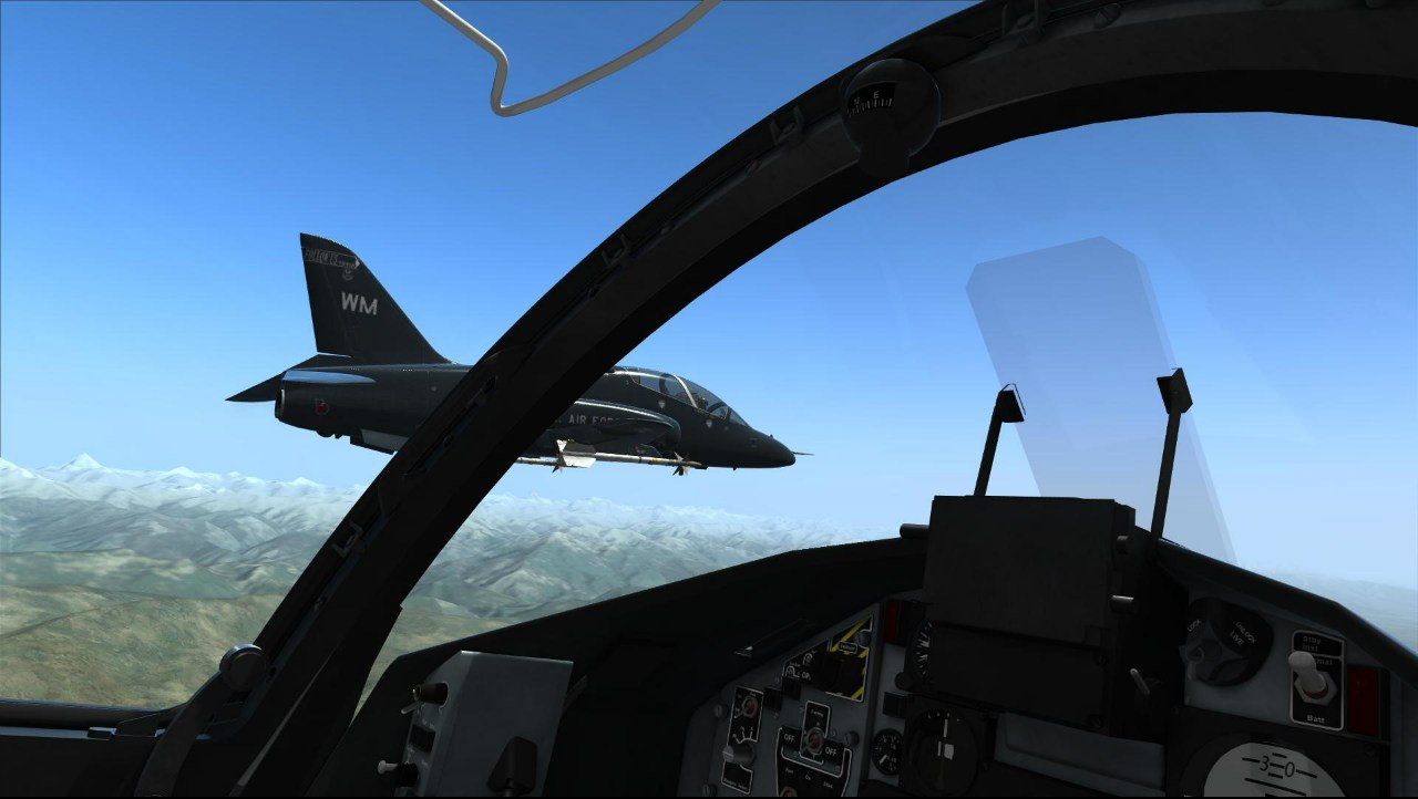 - - DCS World Hawk T.1A, VEAO Simulations