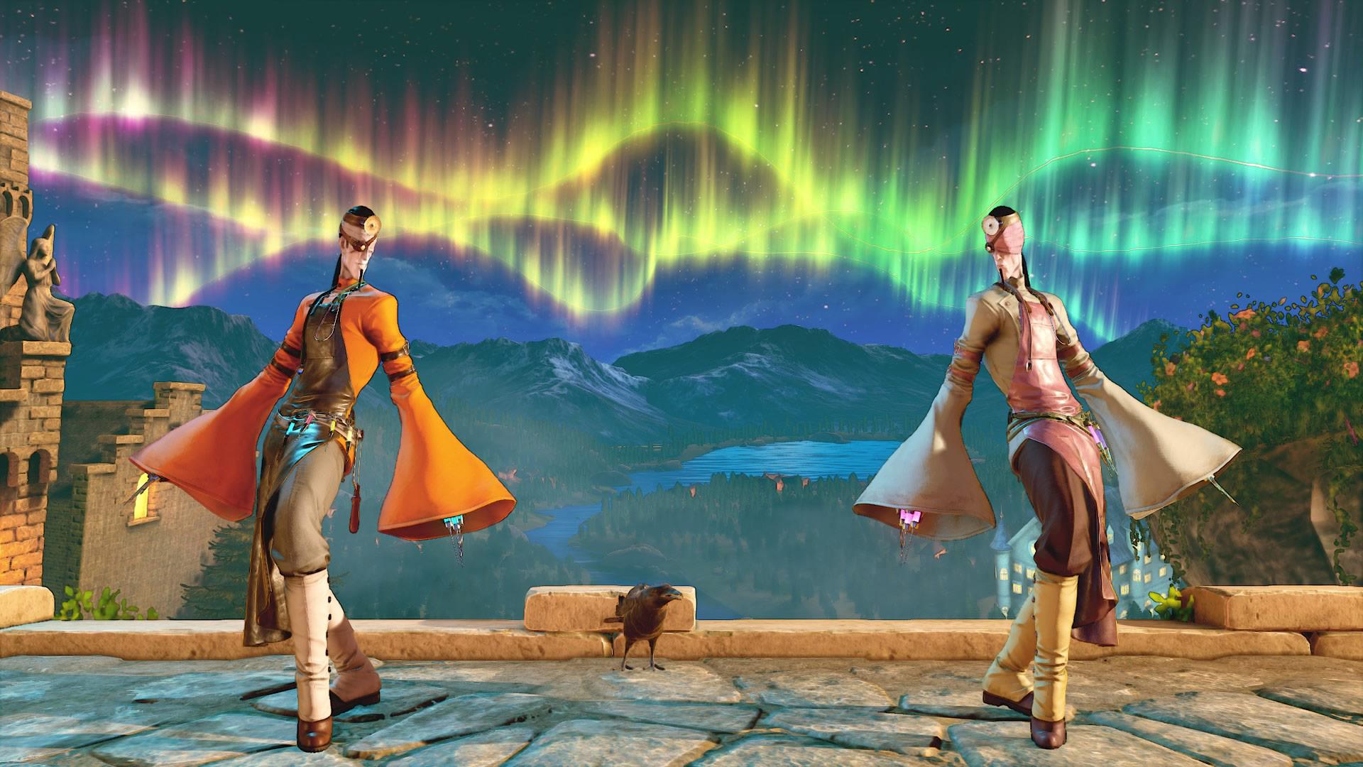 - - Street Fighter 5 Костюм, Скриншот, Хеллоуин
