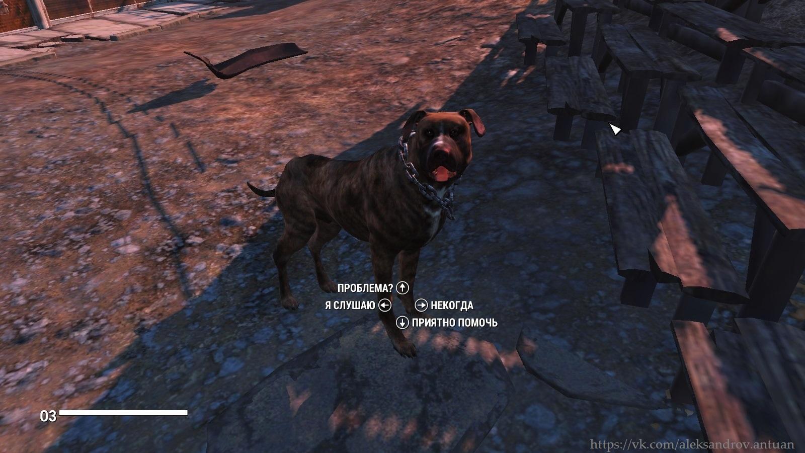 Собака-поселенец. Оборотень ? Скрин не фейковый ... - Fallout 4 поселенец, собака
