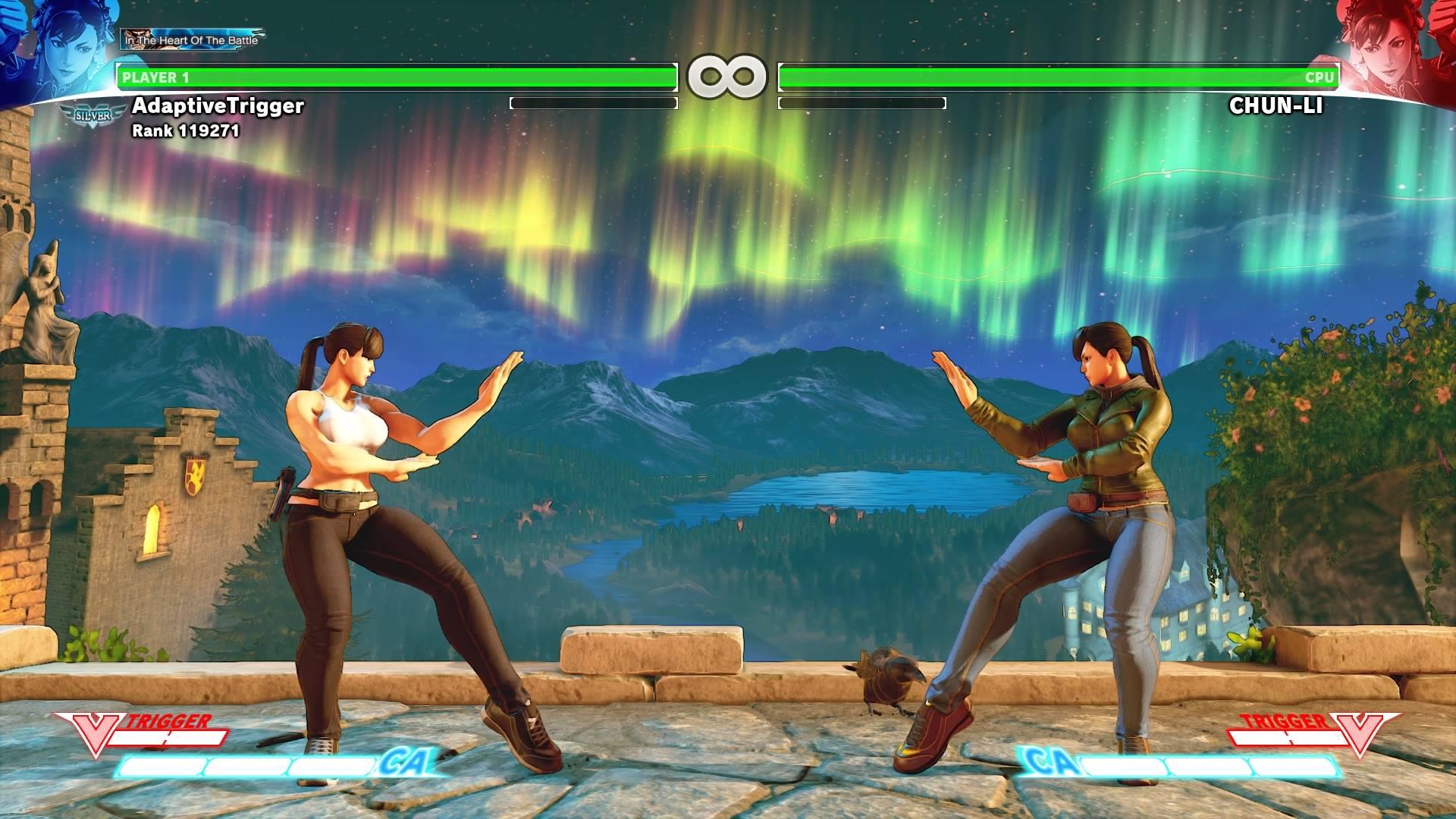 - - Street Fighter 5 Костюм, Скриншот