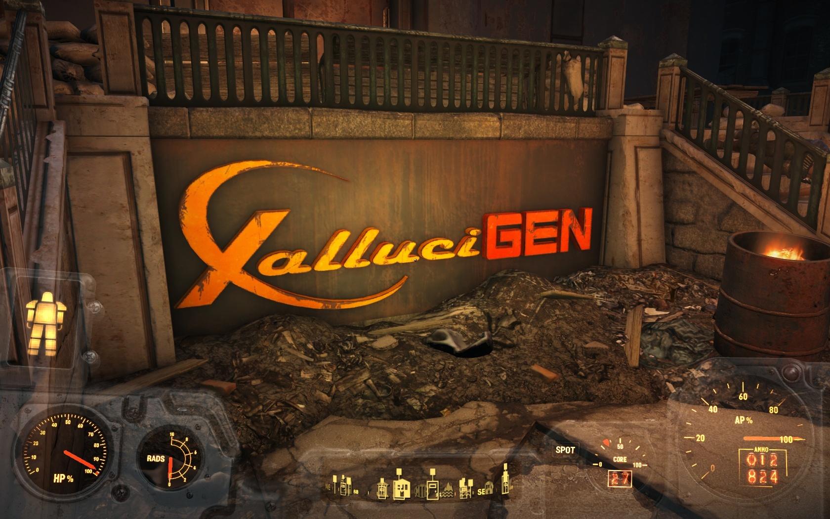 Корпорация ГаллюциГен - Fallout 4 Галлюциген, Корпорация