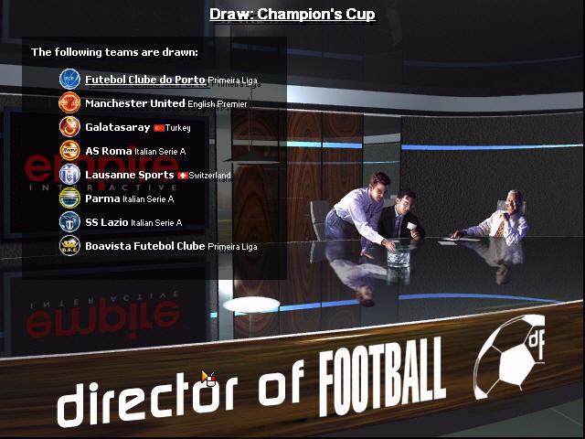 - - Director of Football