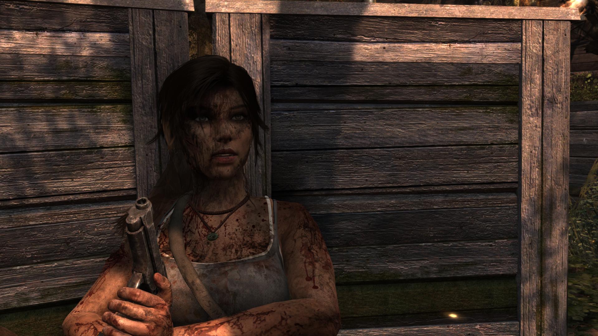 Лара Крофт - Tomb Raider (2013) Секси Шмекси