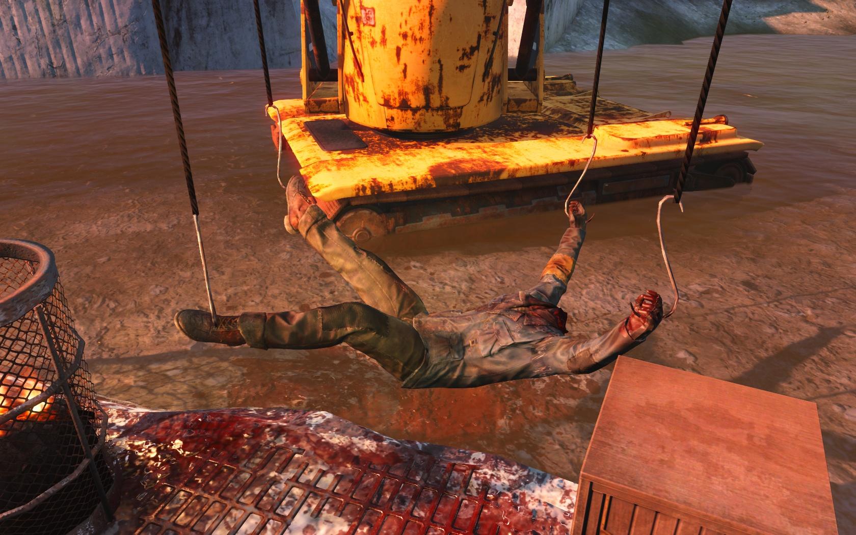 Варвары (у входа в убежище 88) - Fallout 4 убежище, Убежище 88