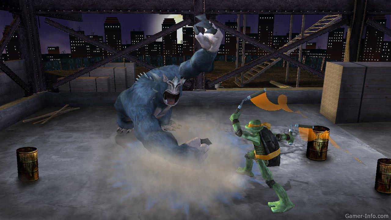 art - Teenage Mutant Ninja Turtles: Video Game