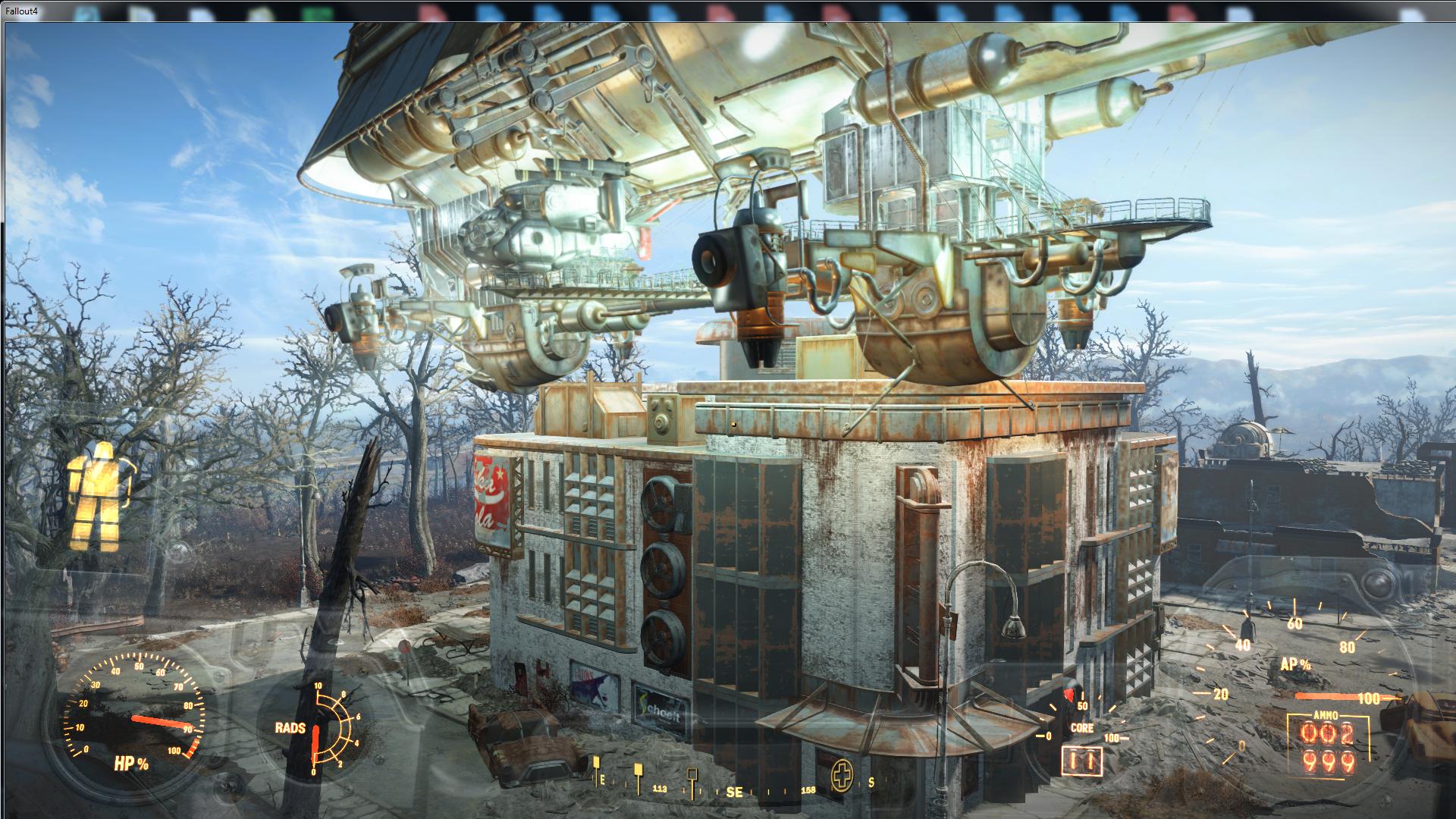 Низкий полёт придвена 2 - Fallout 4