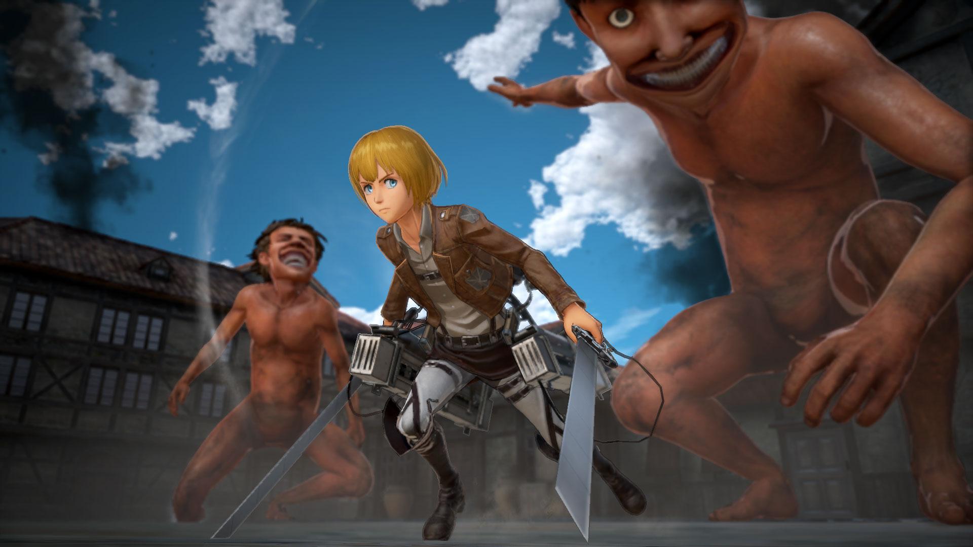 Attack on Titan 2 - Attack on Titan 2 Арт, Рендер, Скриншот