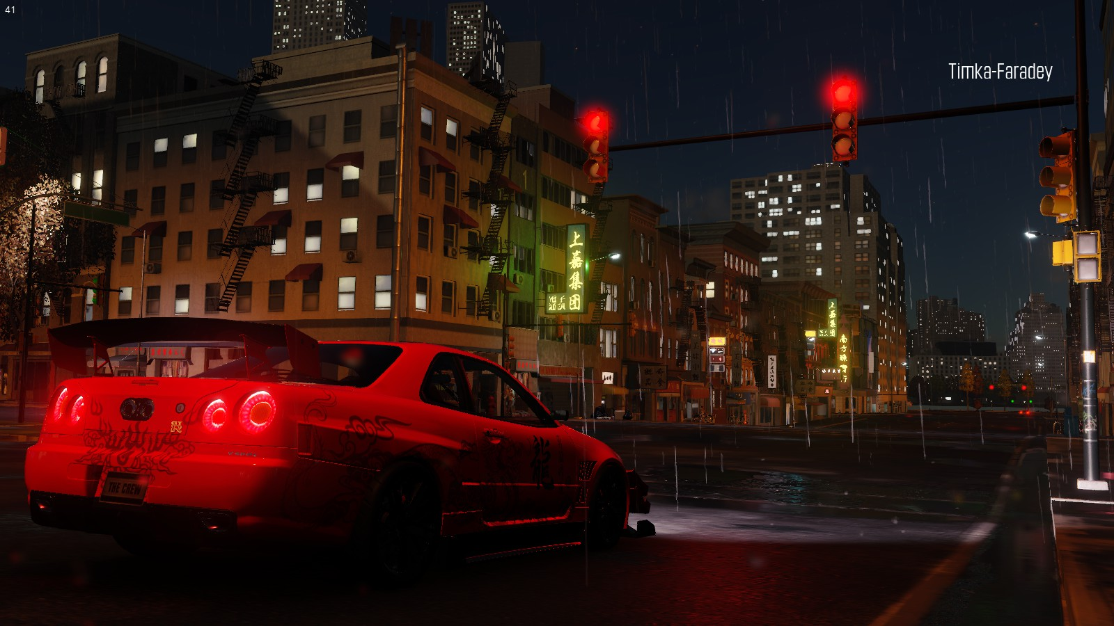 Nissan Skyline R34 GT-R - Crew, the GTR, Автомобиль, Транспорт, Япония