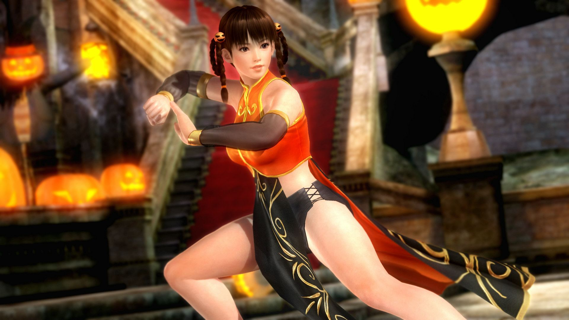 Dead or Alive 5: Last Round - Halloween - Dead or Alive 5: Last Round DLC, Арт, Костюм, Хеллоуин