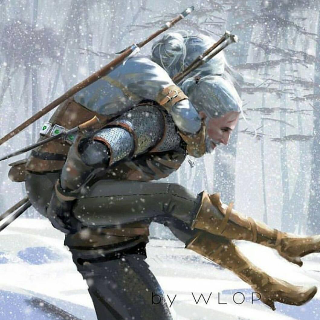 А вы смогли бы сделать ради Цири то, что сделал Геральт? - Witcher 3: Wild Hunt, the Геральт и Цири