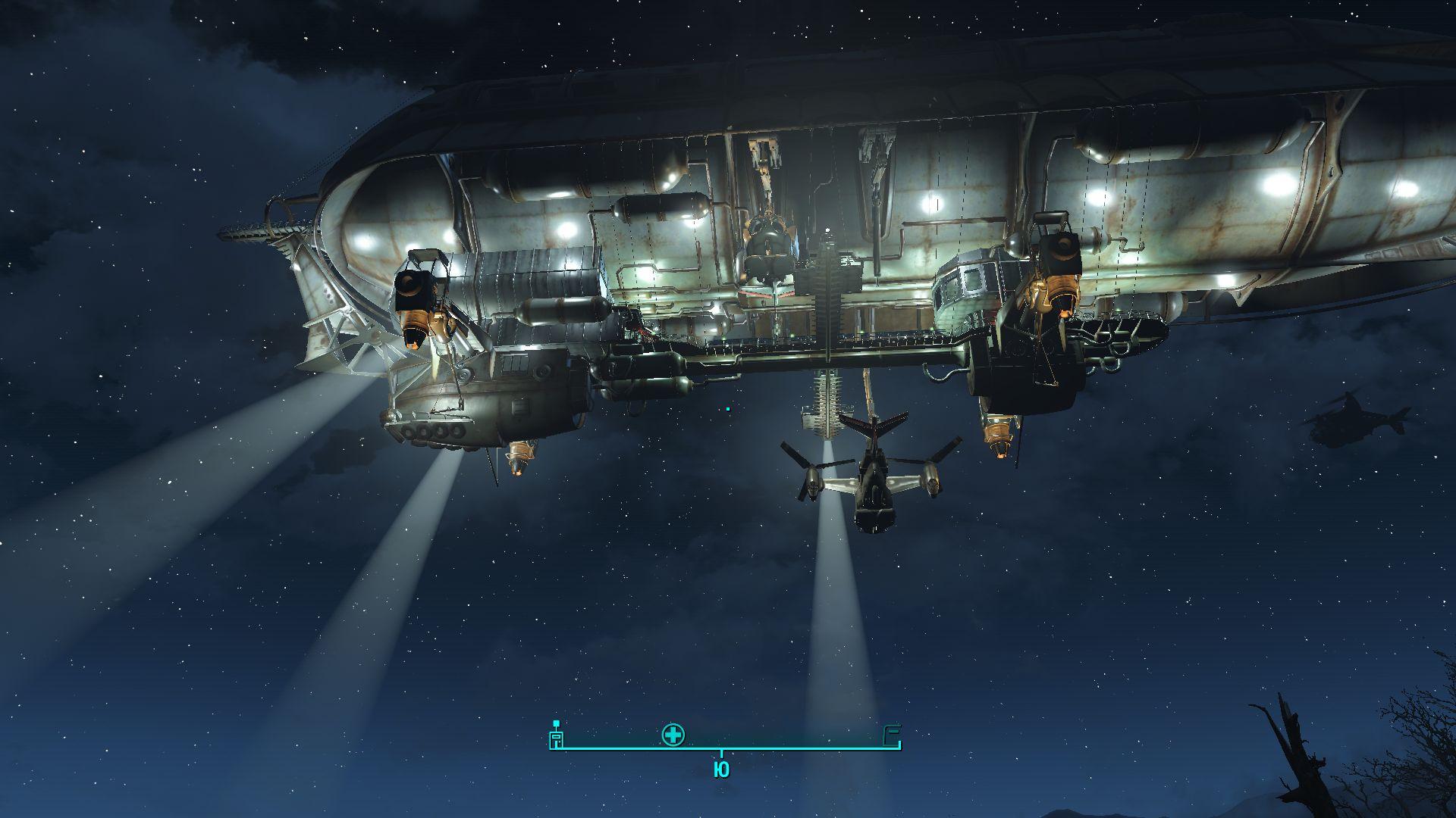Прилетели - Fallout 4