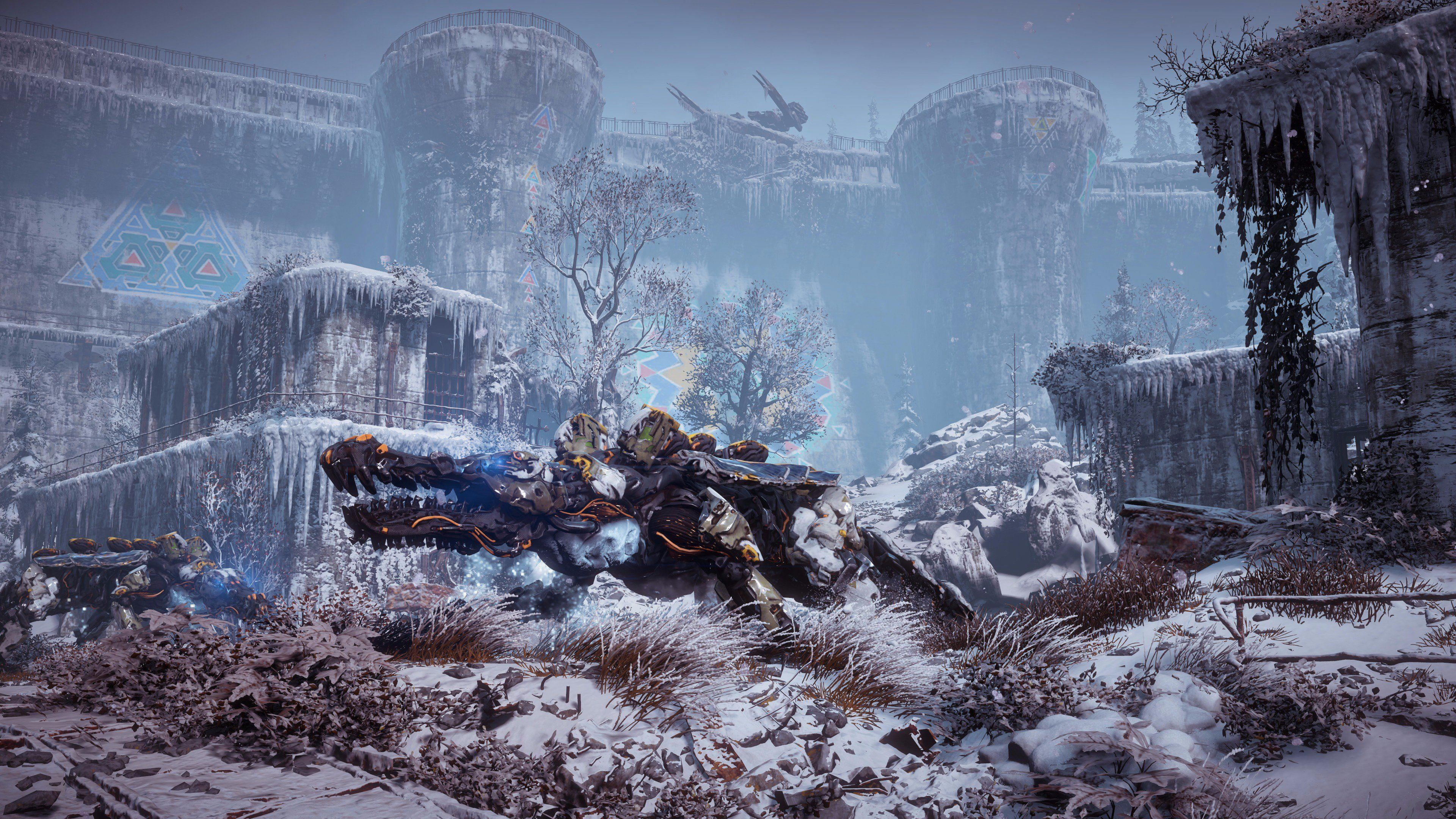 Horizon: Zero Dawn - The Frozen Wilds - Horizon: Zero Dawn DLC, Арт, Скриншот